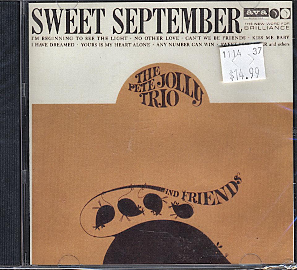 The Pete Jolly Trio CD
