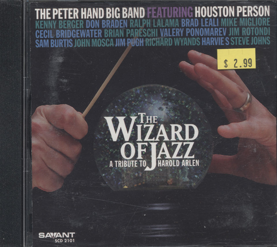 The Peter Hand Big Band CD