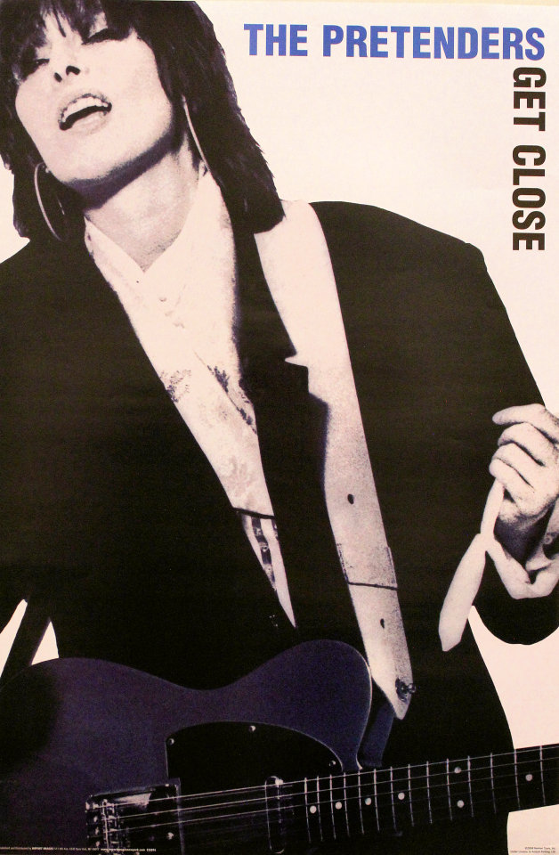 The Pretenders: Get Close Poster