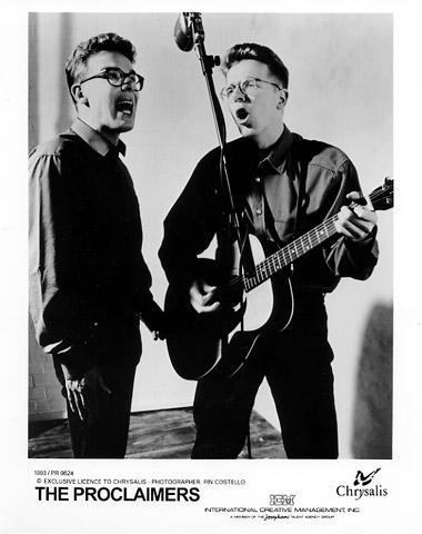 The Proclaimers Promo Print