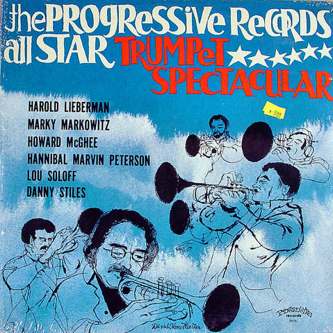 "The Progressive Records All Star Trumpet Spectacular Vinyl 12"" (New)"