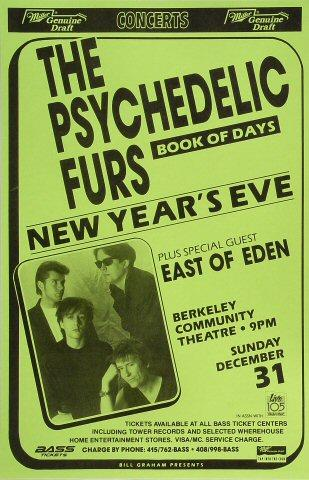 The Psychedelic Furs Poster