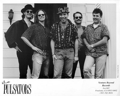 The Pulsators Promo Print