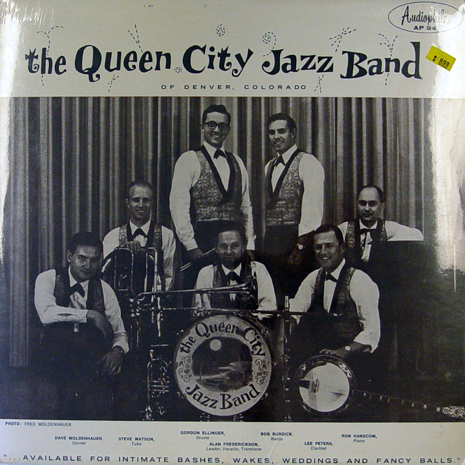 """The Queen City Jazz Band Vinyl 12"""" (New)"""