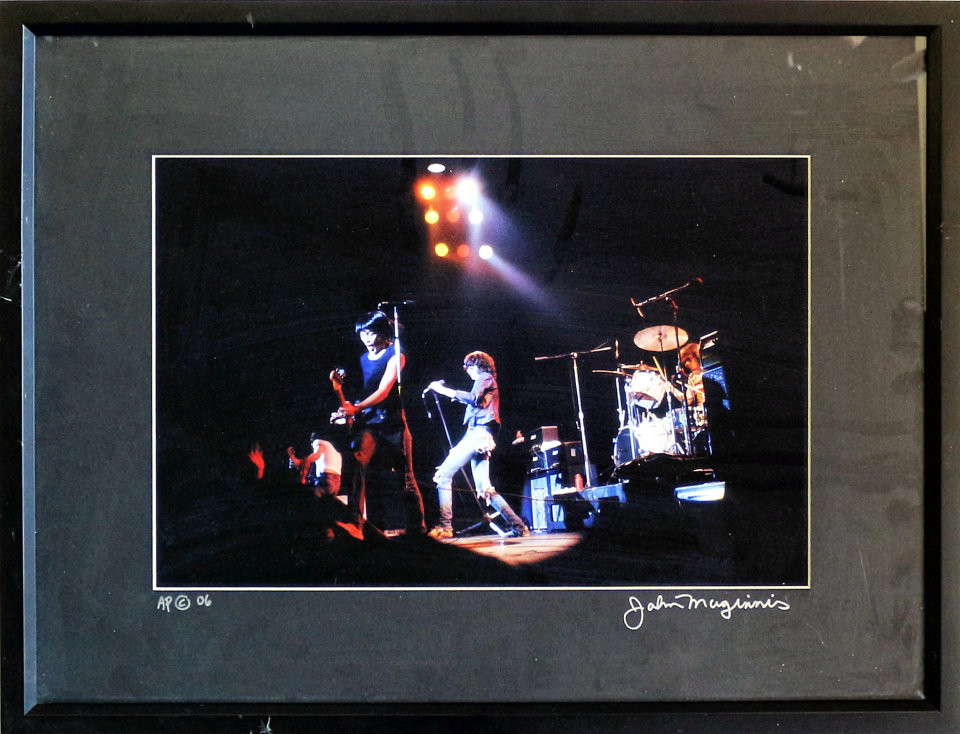 The Ramones Framed Vintage Print