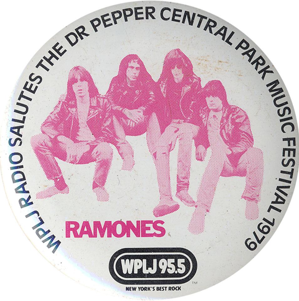 The Ramones Pin