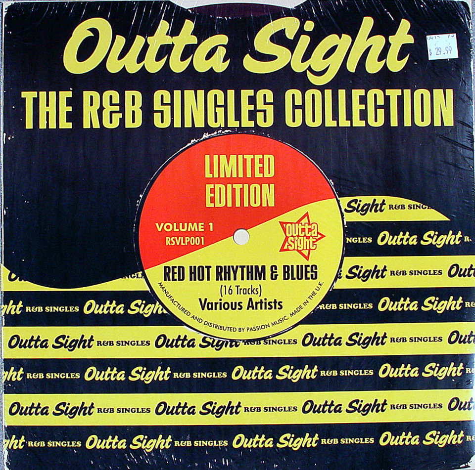 """The R&B Singles Collection Vinyl 12"""" (New)"""