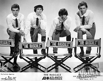 The Rascals Promo Print