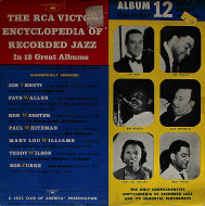 "The RCA Victor Encyclopedia Of Recorded Jazz: Album 12 Ven To Zur Vinyl 10"" (Used)"