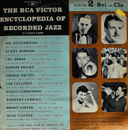 "The RCA Victor Encyclopedia Of Recorded Jazz: Album 2-Bei to Cla Vinyl 10"" (Used)"