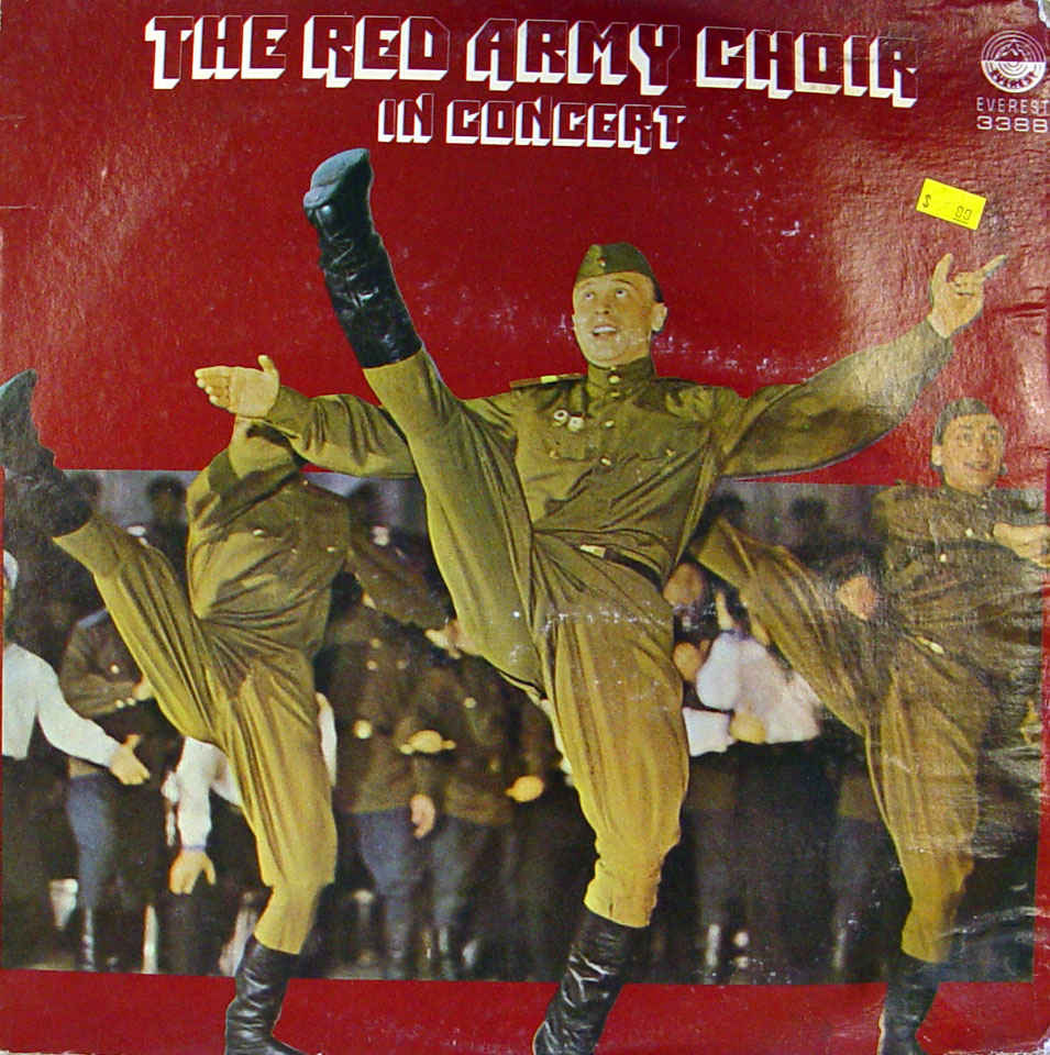 "The Red Army Choir Vinyl 12"" (Used)"