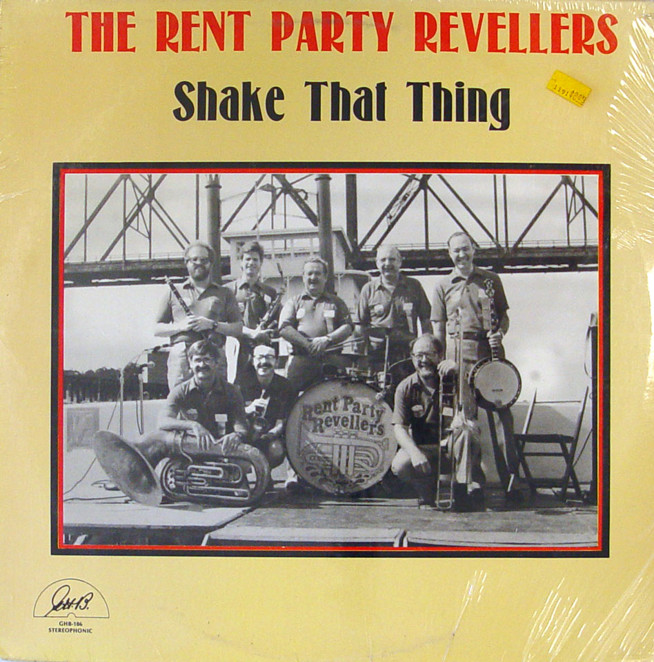 "The Rent Party Revellers Vinyl 12"" (New)"