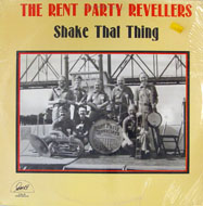 """The Rent Party Revellers Vinyl 12"""" (New)"""