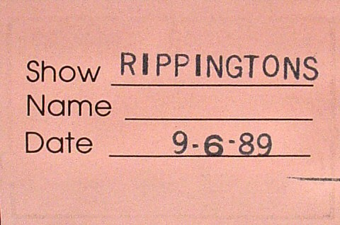 The Rippingtons Backstage Pass reverse side