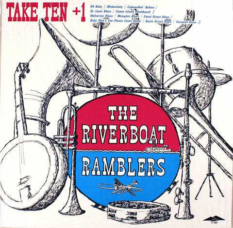 "The Riverboat Ramblers Vinyl 12"" (New)"