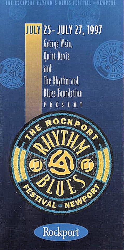 The Rockport Rhythm And Blues Festival Program