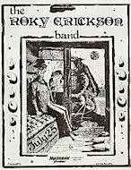 The Roky Erickson Band Handbill