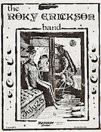 The Roky Erickson Band Handbill