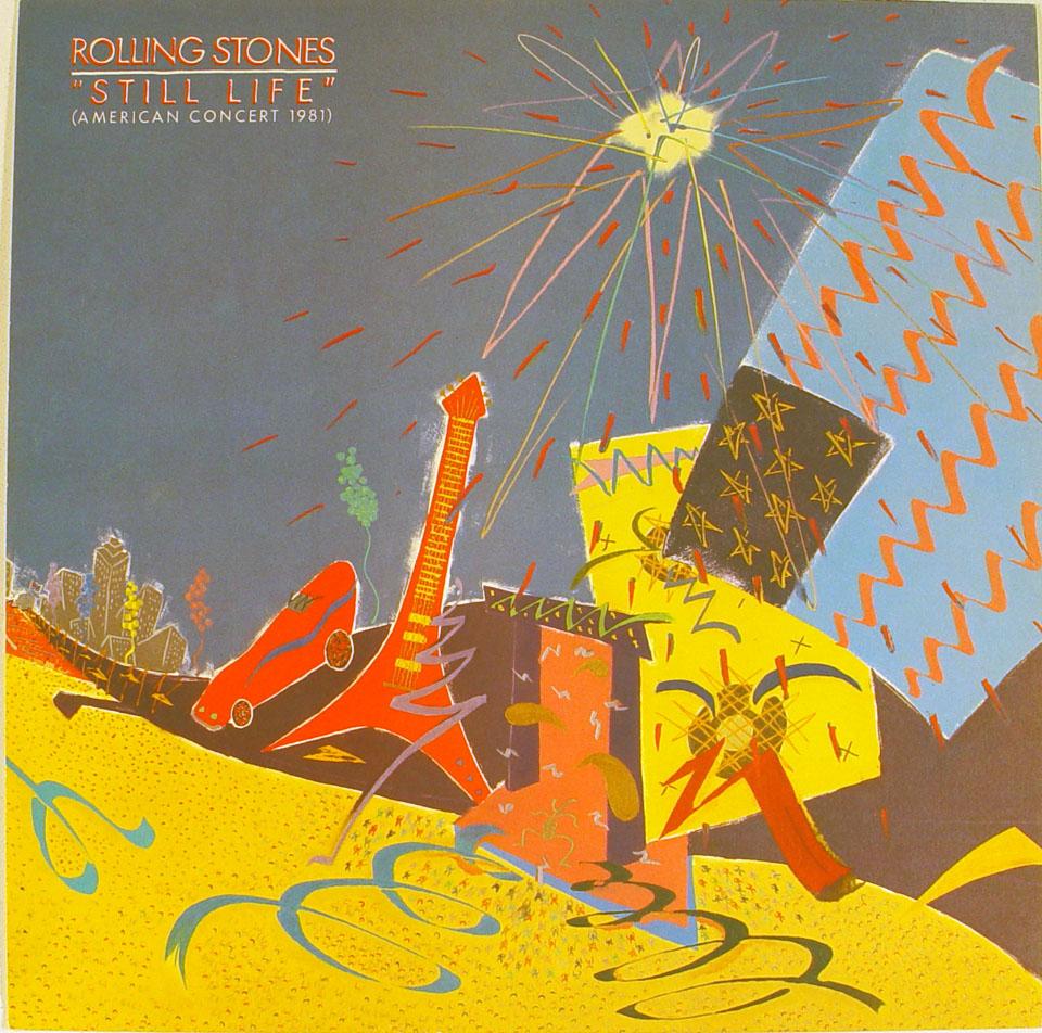 The Rolling Stones Album Flat