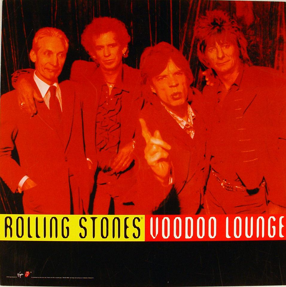 The Rolling Stones Album Flat reverse side