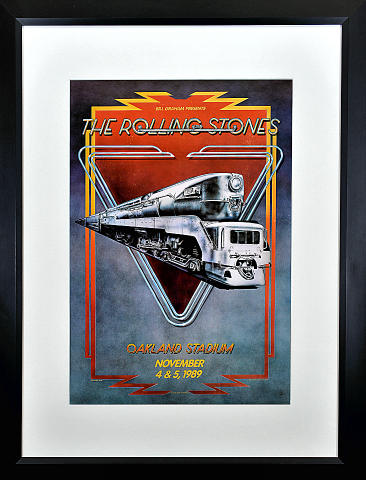 The Rolling Stones Framed Poster