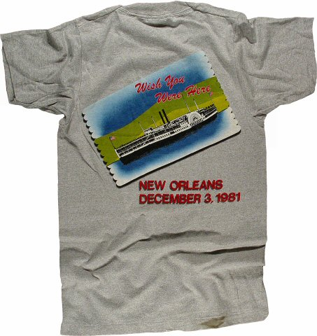 The Rolling Stones Men's Vintage T-Shirt reverse side