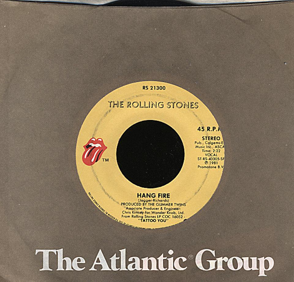 "The Rolling Stones Vinyl 7"" (Used)"