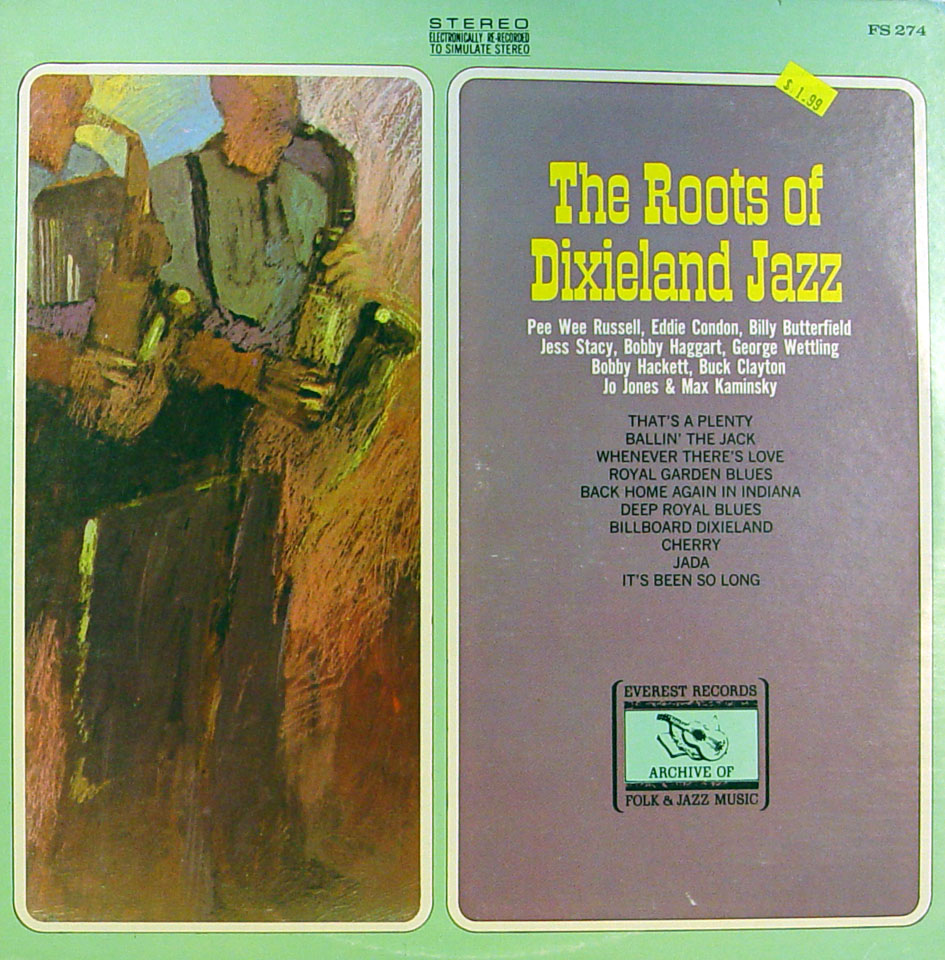 """The Roots Of Dixieland Jazz Vinyl 12"""" (Used)"""