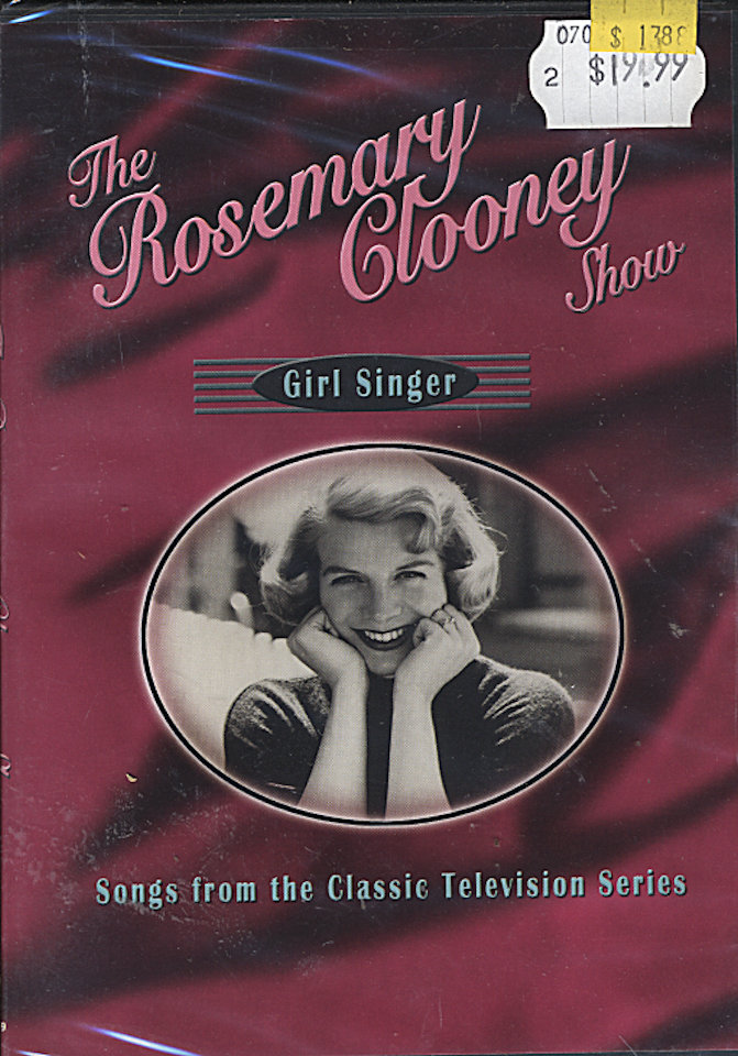 The Rosemary Clooney Show DVD