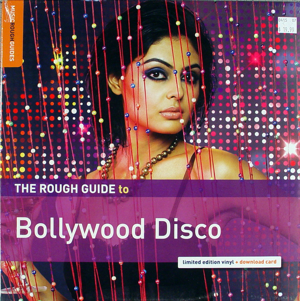 """The Rough Guide To: Bollywood Disco Vinyl 12"""" (New)"""