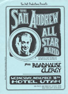 The Sam Andrew Band Handbill