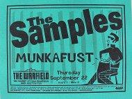 The Samples Handbill