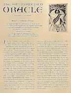 The San Francisco Oracle Handbill