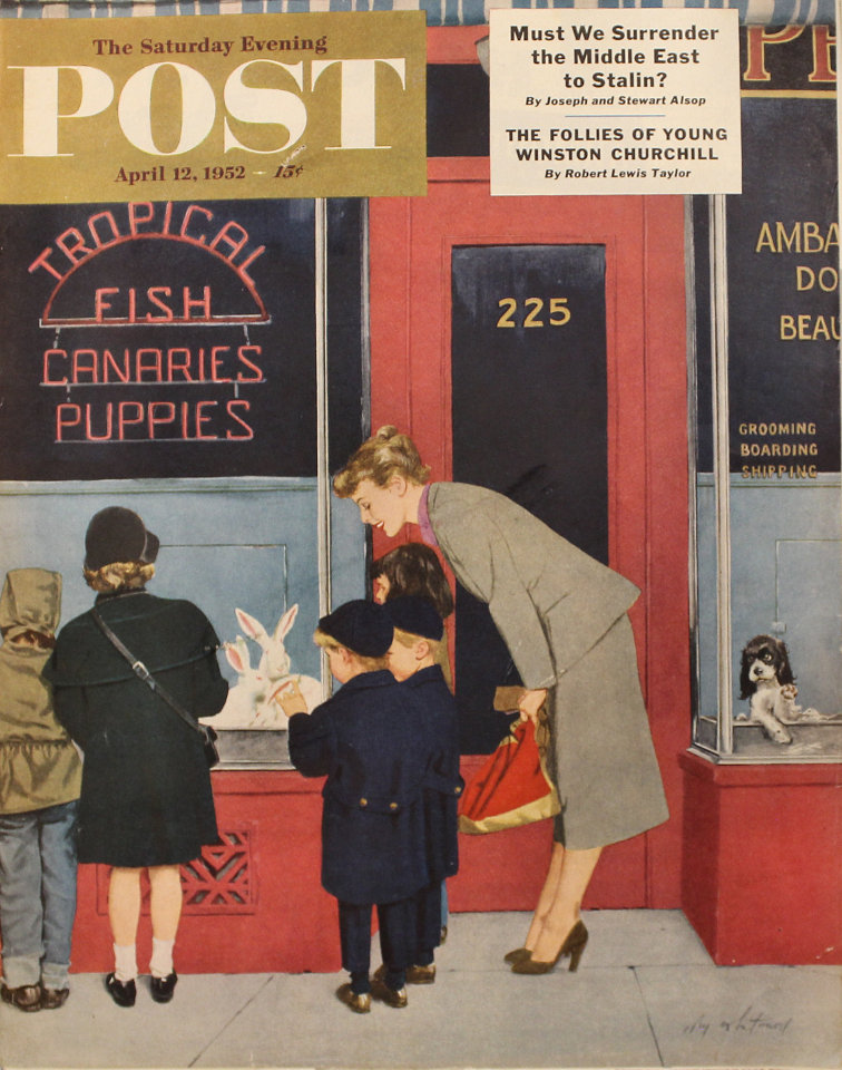 The Saturday Evening Post  Apr 12,1952