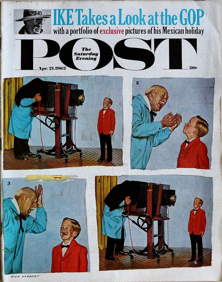 The Saturday Evening Post  Apr 21,1962