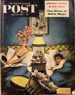 The Saturday Evening Post April 13, 1957 Magazine