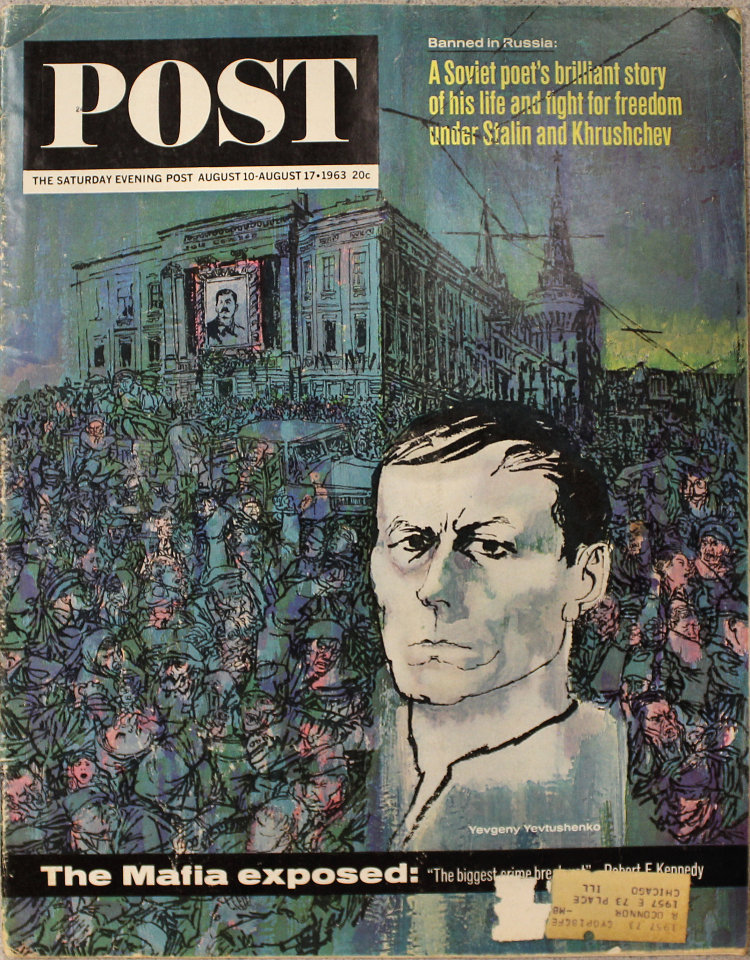 The Saturday Evening Post  Aug 10,1963
