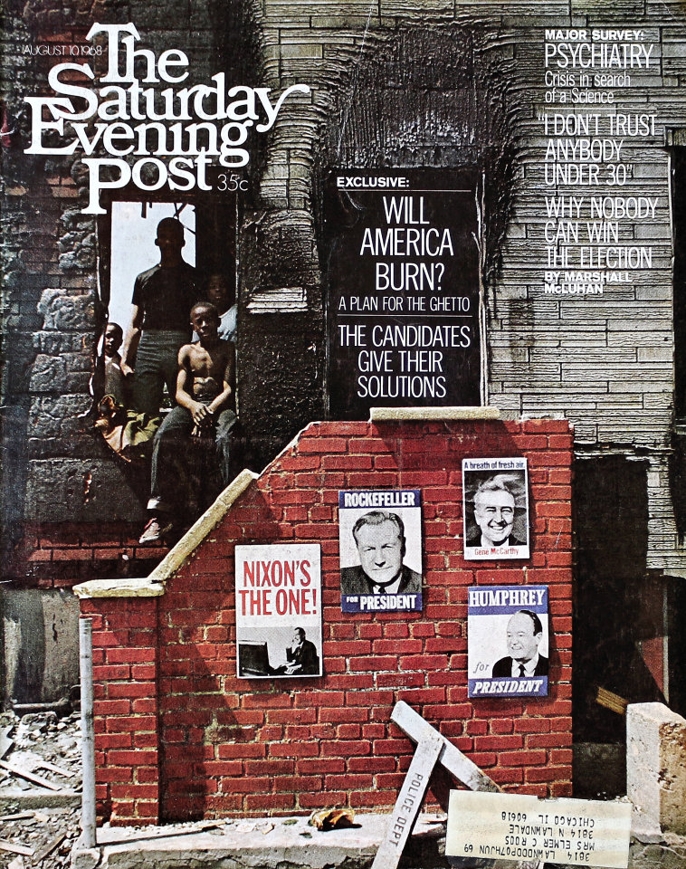 The Saturday Evening Post  Aug 10,1968