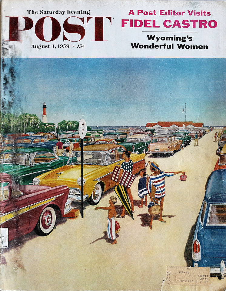 The Saturday Evening Post  Aug 1,1959