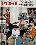 The Saturday Evening Post  Dec 1,1956 Magazine