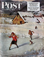 The Saturday Evening Post  Dec 30,1950 Magazine