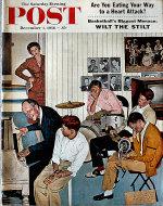 The Saturday Evening Post December 1, 1956 Magazine