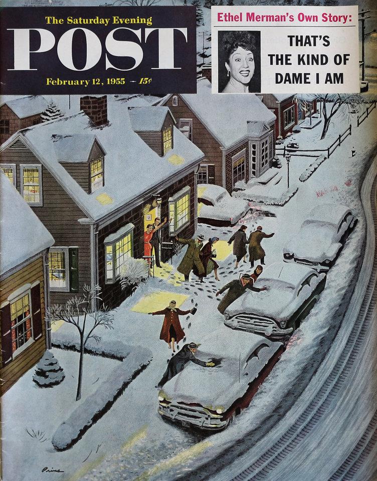 The Saturday Evening Post  Feb 12,1955