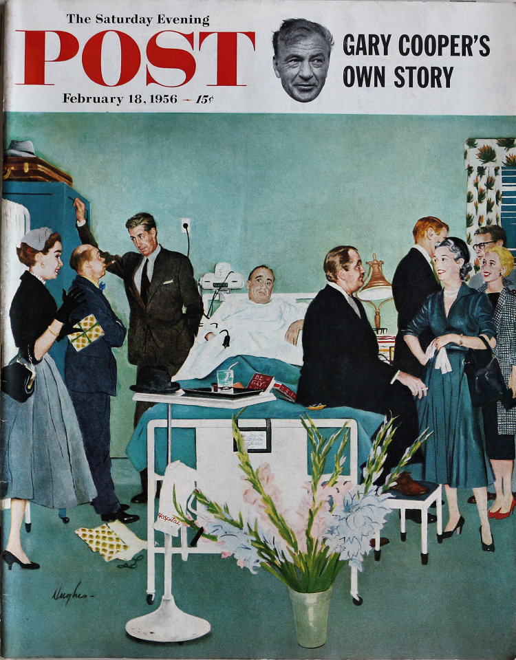 The Saturday Evening Post  Feb 18,1956