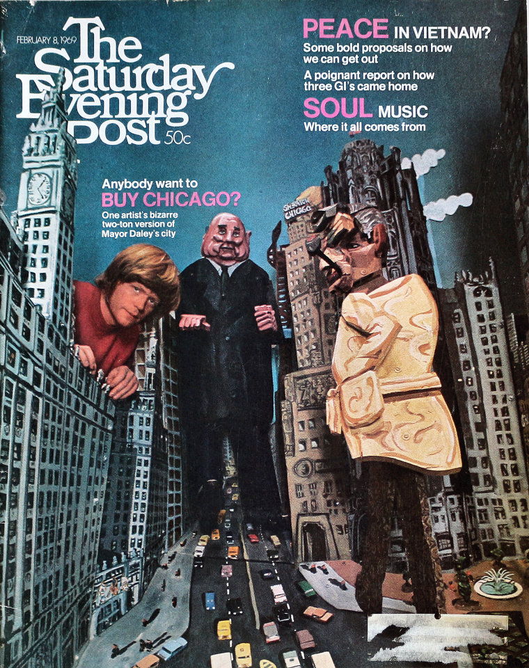 The Saturday Evening Post  Feb 8,1969