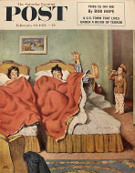 The Saturday Evening Post February 20, 1954 Magazine