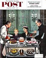 The Saturday Evening Post  Jan 1,1955 Magazine