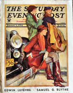 The Saturday Evening Post  Jan 6,1934 Magazine