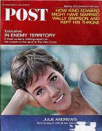 The Saturday Evening Post January 29, 1966 Magazine