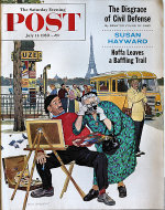 The Saturday Evening Post  Jul 11,1959 Magazine
